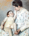 Baby's First Caress - Mary Cassatt