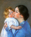 A Kiss For Baby Anne - Mary Cassatt