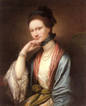 Portrait of Ann Barbara Hill Medlycott (1720-1800) - Benjamin West