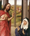 Miraflores Altarpiece: right panel [detail: 1] (or Mary Altarpiece) - Rogier van der Weyden
