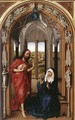 Miraflores Altarpiece: right panel (or Mary Altarpiece) - Rogier van der Weyden