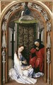 Miraflores Altarpiece: left panel (or Mary Altarpiece) - Rogier van der Weyden