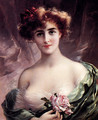 The Pink Rose - Emile Vernon