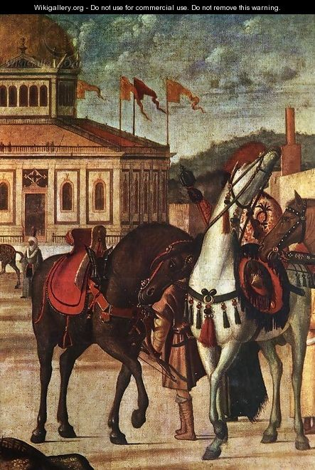 The Triumph of St George [detail: 1] - Vittore Carpaccio