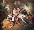 La gamme d'amour (The Love Song) - Jean-Antoine Watteau