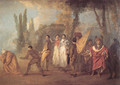 Qu'ay-je fait, assassins maudits (Whatever I build, assassins destroy) - Jean-Antoine Watteau