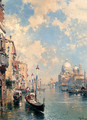 The Grand Canal, Venice - Franz Richard Unterberger