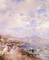 The Bay of Naples - Franz Richard Unterberger