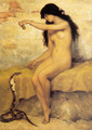 The Nude Snake Charmer - Paul Trouillebert