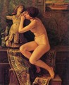 The Venetian Model - Elihu Vedder