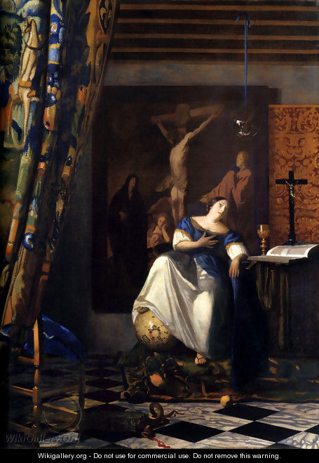 Allegory of the Faith - Jan Vermeer Van Delft