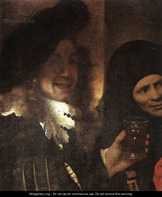 The Procuress [detail: 2] - Jan Vermeer Van Delft