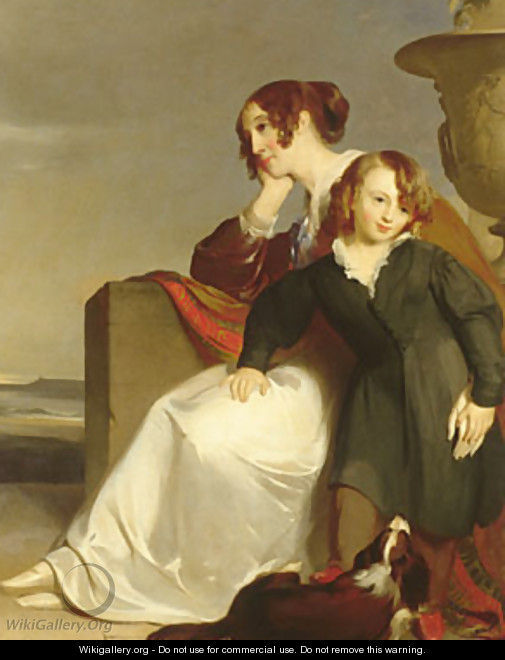 Mother and Son - Thomas Sully