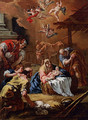 Adoration Of The Shepherds - Sebastiano Ricci