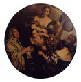 Allegory With An Infant Surrounded By Women, One With A Cornucopia (or The Nurture Of Jupiter) - Gerard de Lairesse