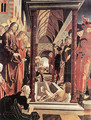 St Wolfgang Altarpiece: Resurrection of Lazar - Michael Pacher