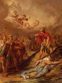 The Death Of Pallas - Jacques-Henri Sablet