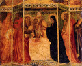 Presentation Of Christ In The Temple - Agnolo Gaddi