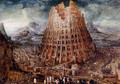 Tower Of Babel - Marten Van Valckenborch I