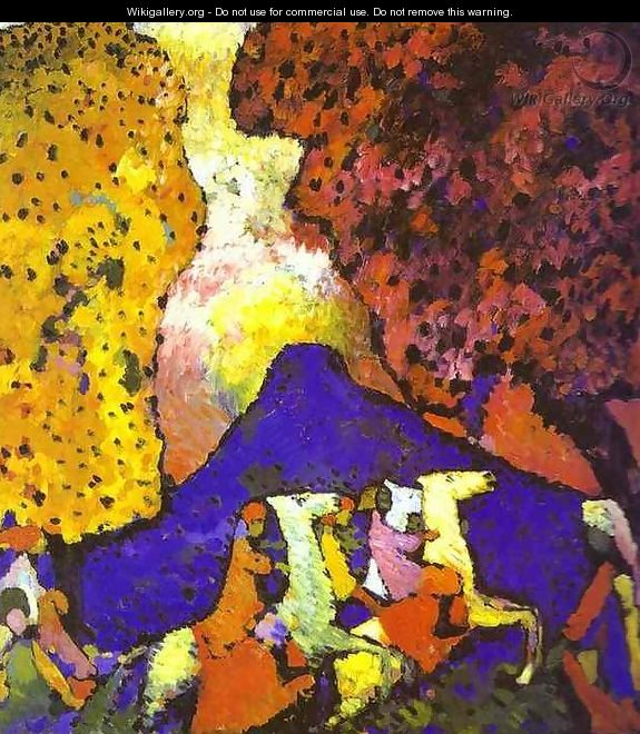 The Blue Mountain - Wassily Kandinsky