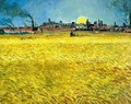 Wheat Fields Near Arles - Vincent Van Gogh