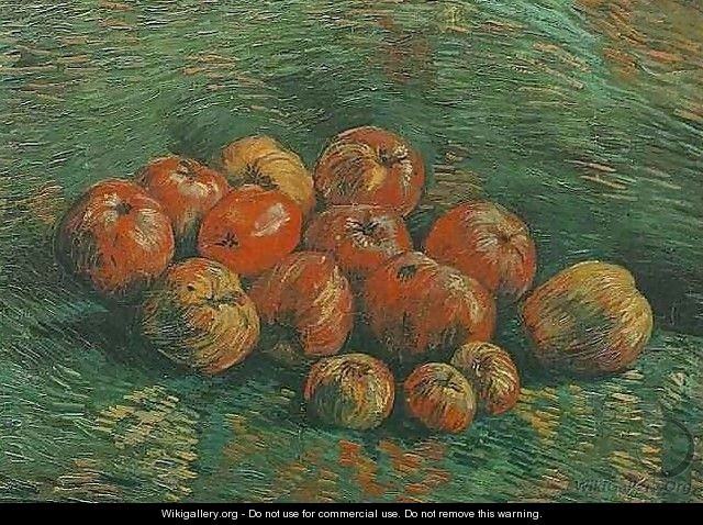 Still Life With Apples - Vincent Van Gogh