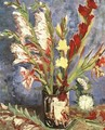 Vase With Gladioli - Vincent Van Gogh