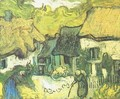 Thatched Cottages In Jorgus - Vincent Van Gogh