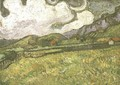 Wheat Field Behind Saint Paul Hospital - Vincent Van Gogh