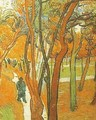 The Falling Leaves - Vincent Van Gogh