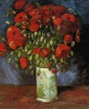 Vase With Red Poppies - Vincent Van Gogh