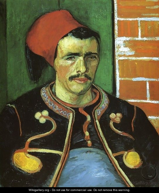 The Zouave (Half Length) - Vincent Van Gogh