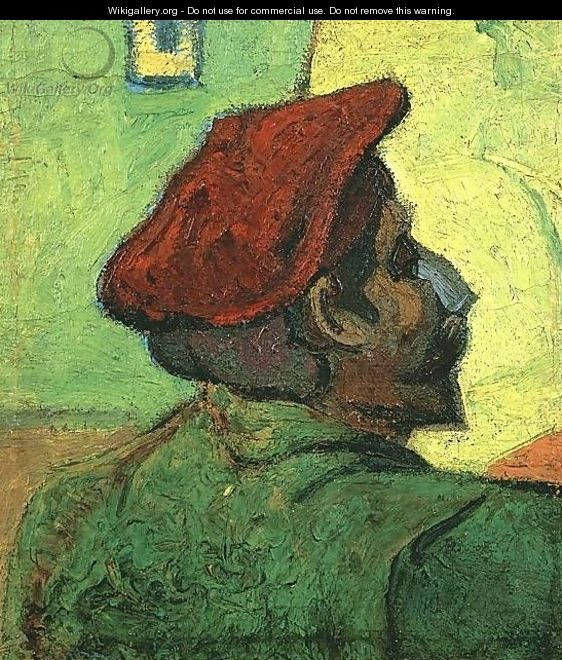Paul Gauguin (Man In A Red Beret) - Vincent Van Gogh