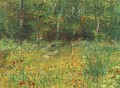 Park At Asnieres In Spring - Vincent Van Gogh