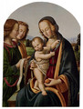 Madonna And Child With Two Angels - Rocco Zoppo