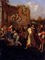 Adoration Of The Magi - Cornelis Van Poelenburgh