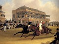 Priam beating Retriever at Doncaster on September 23, 1830 - James Pollard