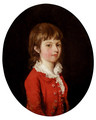 Portrait Of A Young Boy - Thomas Hickey