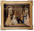 Portrait Of The Broke And The Bowes Families - Thomas Bardwell