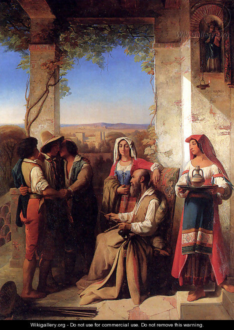 The Return Of The Prodigal Son - Stanislas Henri Benoit Darondeau
