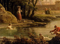 Landscape With Bathers - detail - Claude-joseph Vernet