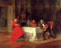 The Musical Interlude - Alfred Charles Weber