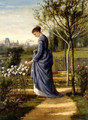 In The Garden - William Mark Fisher