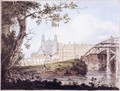 Eton College from Datchet Road - Thomas Girtin