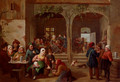 Merrymaking In The Tavern - Constantin Fidèle Coene