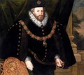 Portrait Of Sir Christopher Hatton - Marcus The Younger Gheeraerts
