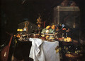 Still Life Of Dessert - Jan Davidsz. De Heem