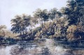 Trees and Pond near Bromley, Kent - Thomas Girtin