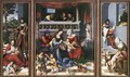 Altar Of The Holy Family (Torgau Altar) - Lucas The Elder Cranach