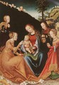 The Mystic Marriage of St Catherine - Lucas The Elder Cranach